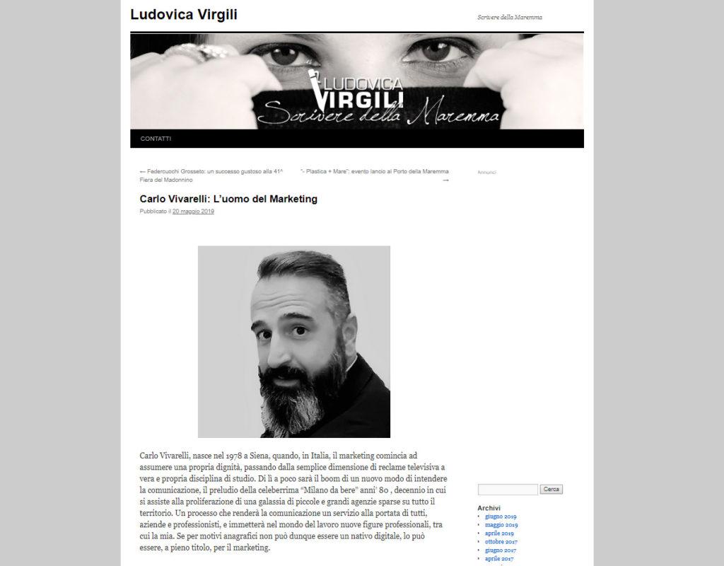 Intervista Ludovica Virgili
